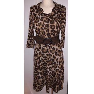 jessica howard leopard print dress